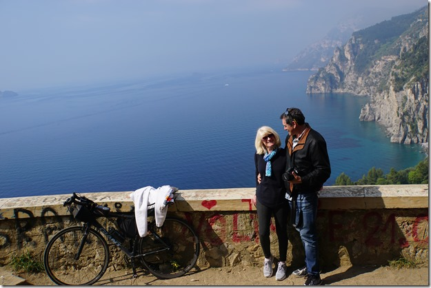 A stop on the way to Positano